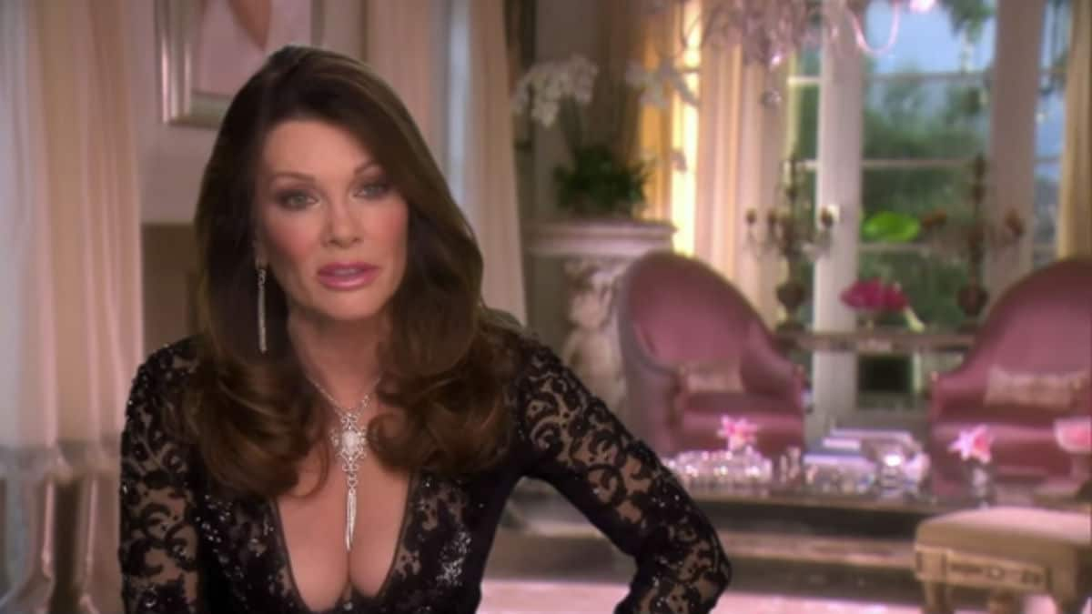 Lisa Vanderpump on The Real Housewives of Beverly Hills.