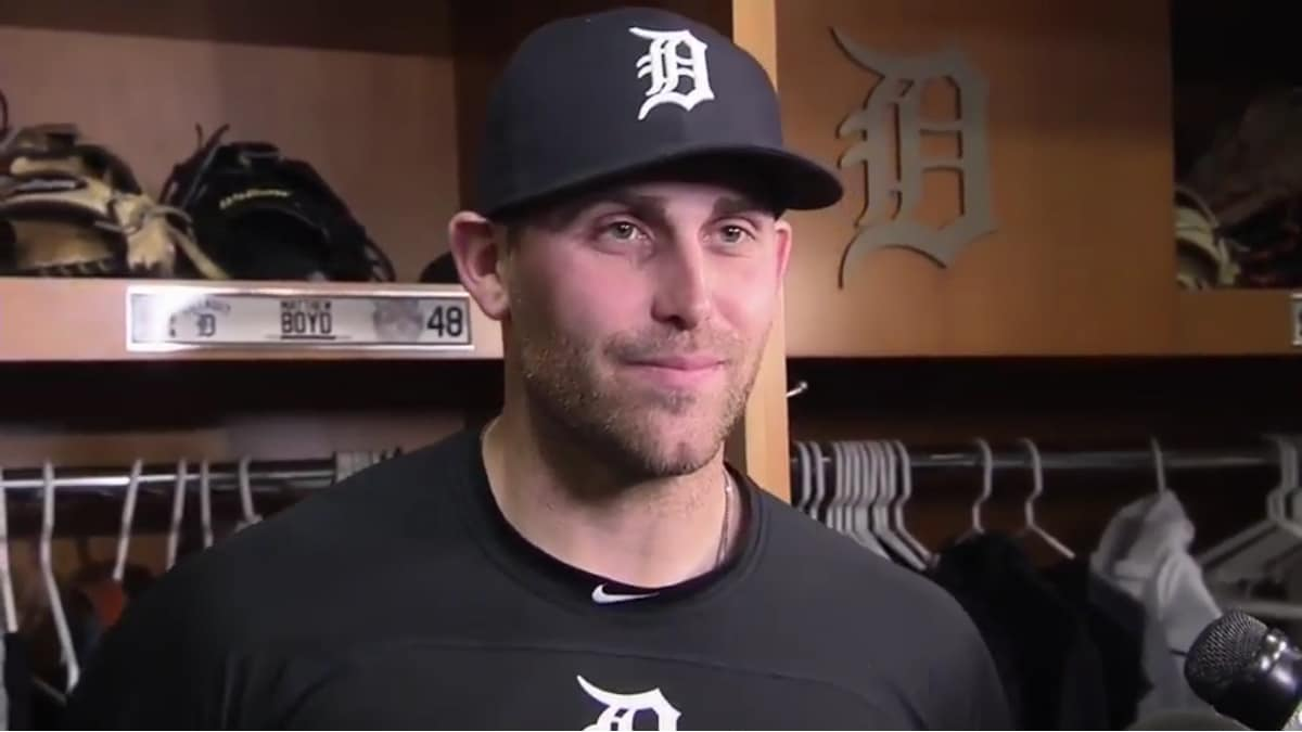 Matthew Boyd of the Detroit Tigers