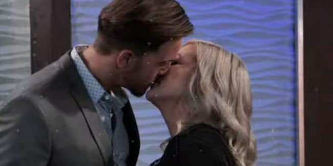 Wes Ramsey and Kirsten Storms as Peter and Maxie on General Hospital.