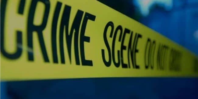 Crime scene tape photo