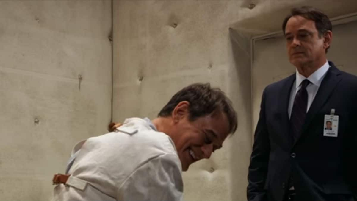 Jon Lindstrom as Ryan Chamberlain and Kevin Collins on General Hospital.