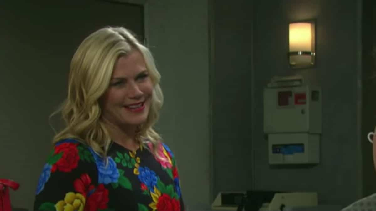 Alison Sweeney as Sami on Days of our Lives.