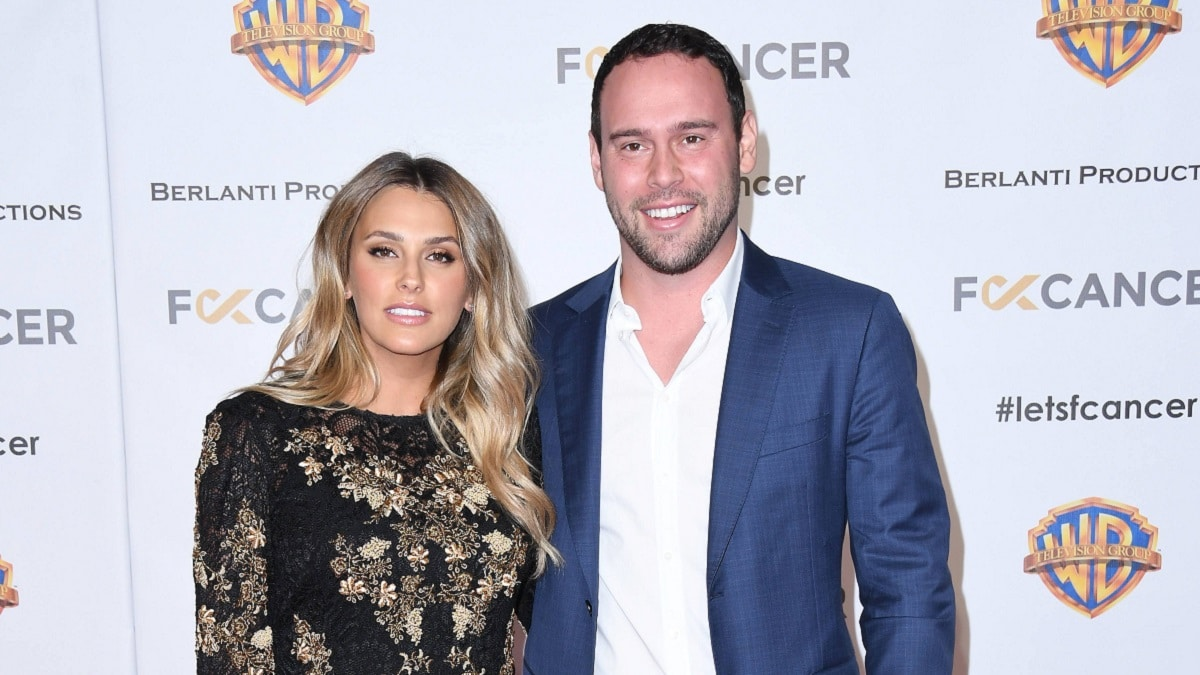 Scooter Braun and wife Yael Cohen