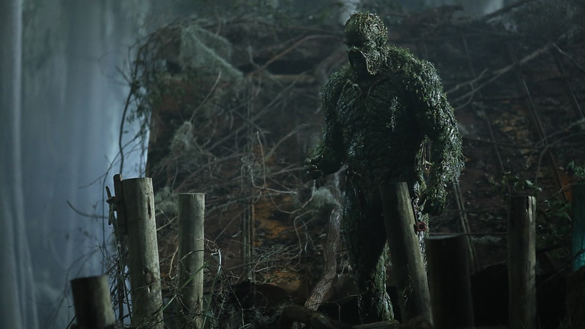 Swamp Thing air time.