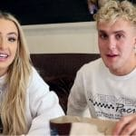 Tana Mongeau and Jake Paul appear together in their first YouTube video
