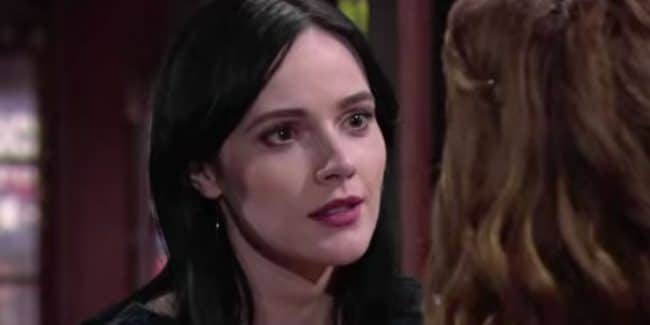 Cait Fairbanks as Tessa on The Young and the Restless.