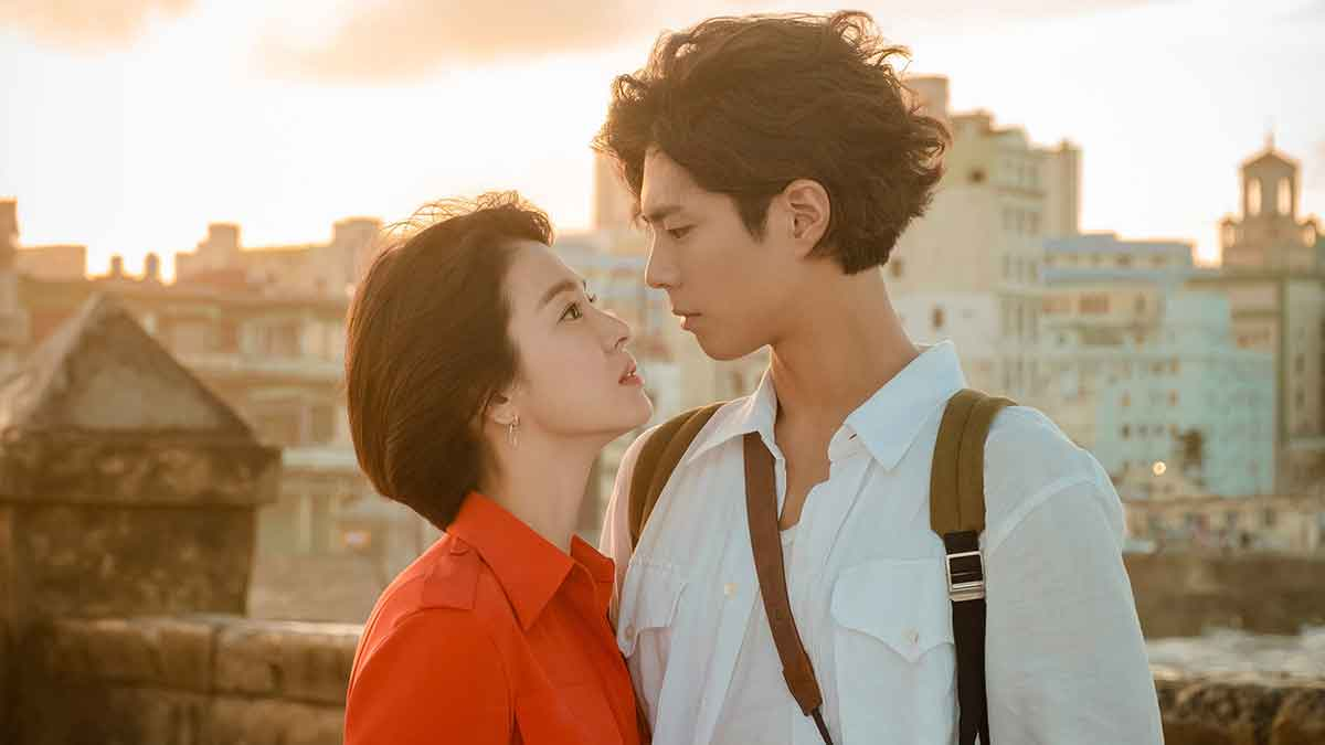 Song Hye-Kyo and Park Bo-Gum in The Encounter