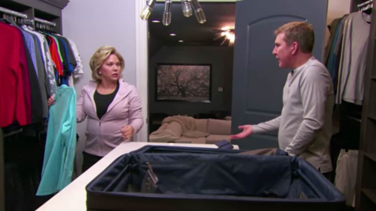 Julie and Todd Chrisley on Chrisley Knows Best.