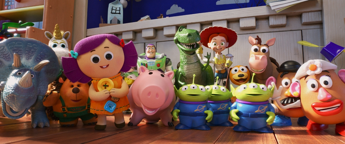 The gang from Toy Story 4