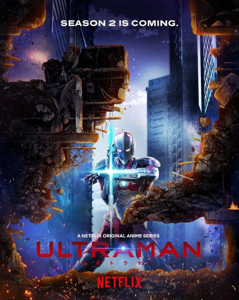 Ultraman Season 2 Anime Poster