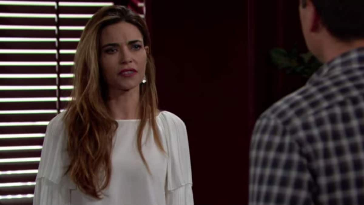 Amelia Heinle as Victoria on The Young and the Restles