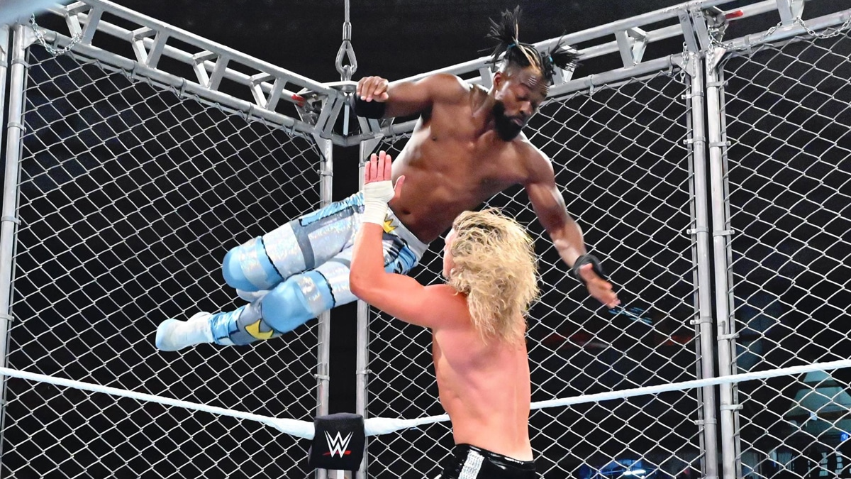 WWE Stomping Ground has very low attendance, photos surface of entire section curtained off