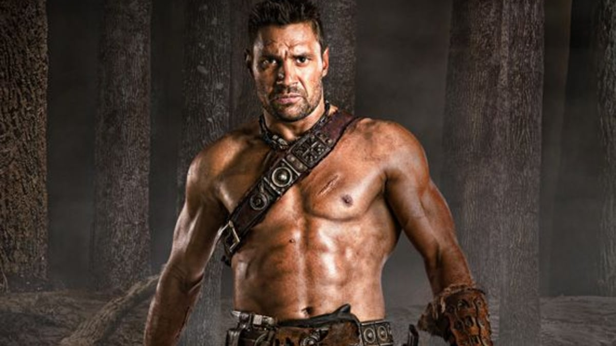 Manu Bennett was a fan favorite in the now wrapped Spartacus for Star. Pic credit: Starz