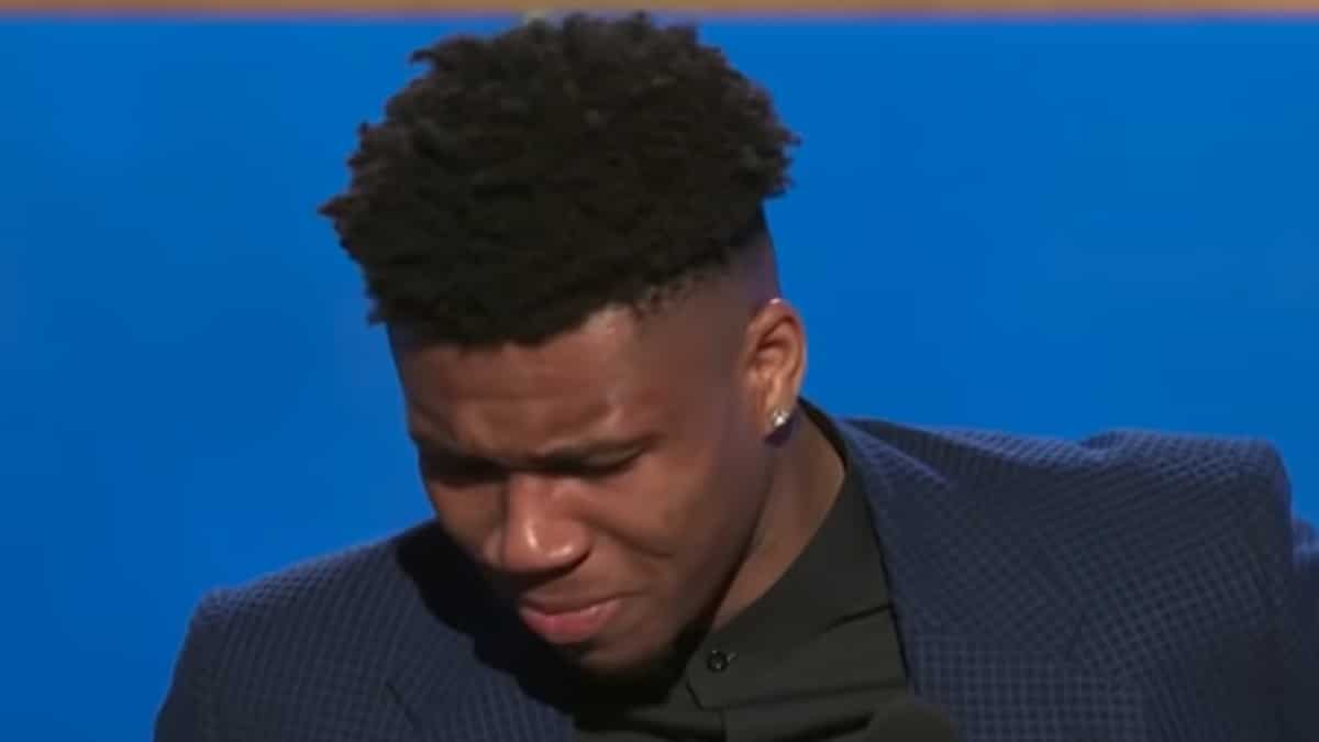 Giannis Antetokounmpo MVP speech: Player pays emotional