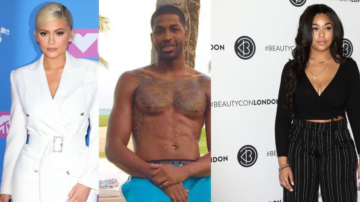 Kylie Jenner, Tristan Thompson and Jordyn Woods