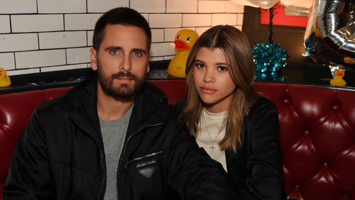 Sofia Richie and Scott Disick