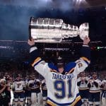st louis blues celebrate their nhl stanley cup win