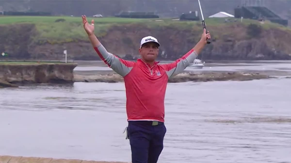 2019 us open winner gary woodland celebrates