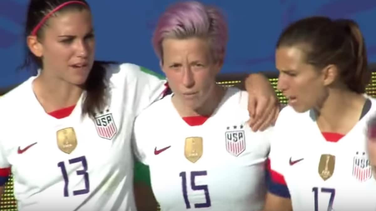 alex morgan megan rapinoe and tobin heath of team usa