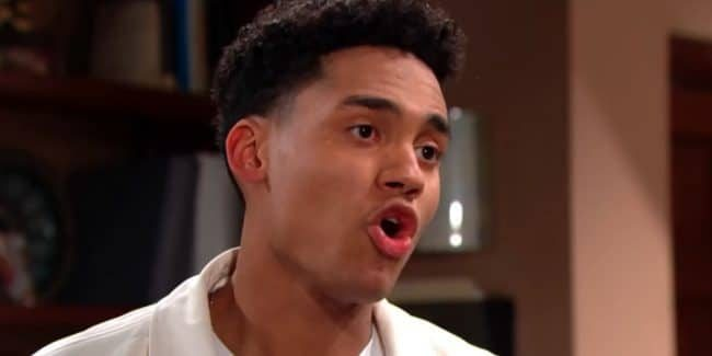 Xander on The Bold and the Beautiful