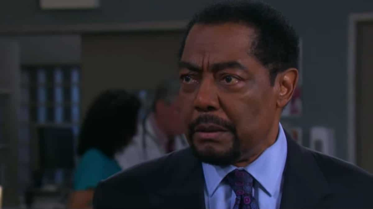 James Reynolds as Abe on Days of our Lives.