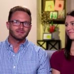 Adam and Danielle Busby in a confessional for OutDaughtered.