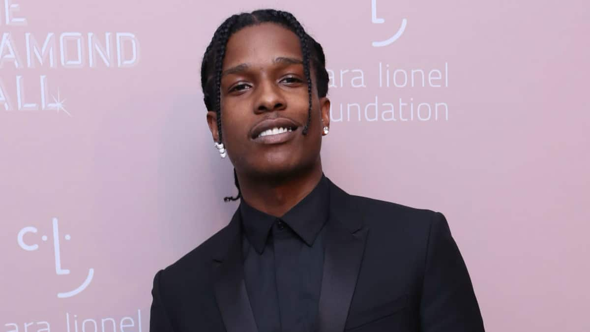 ASAP Rocky at Rihanna's 4th Annual Diamond Ball held at Cipriani Wall Street in New York City.
