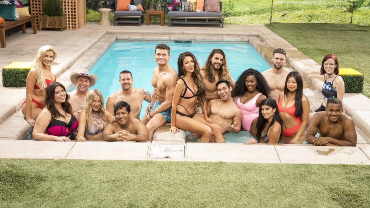 Big Brother 21 Cast In Pool