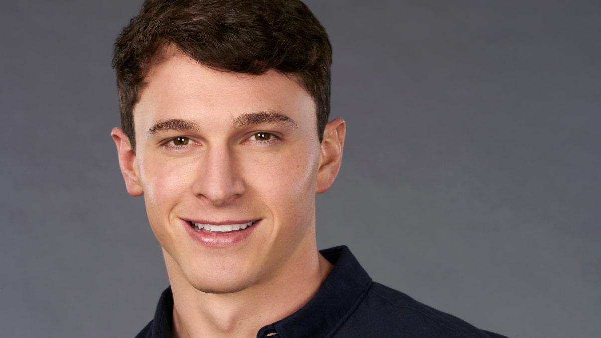 Connor Saeli on The Bachelorette