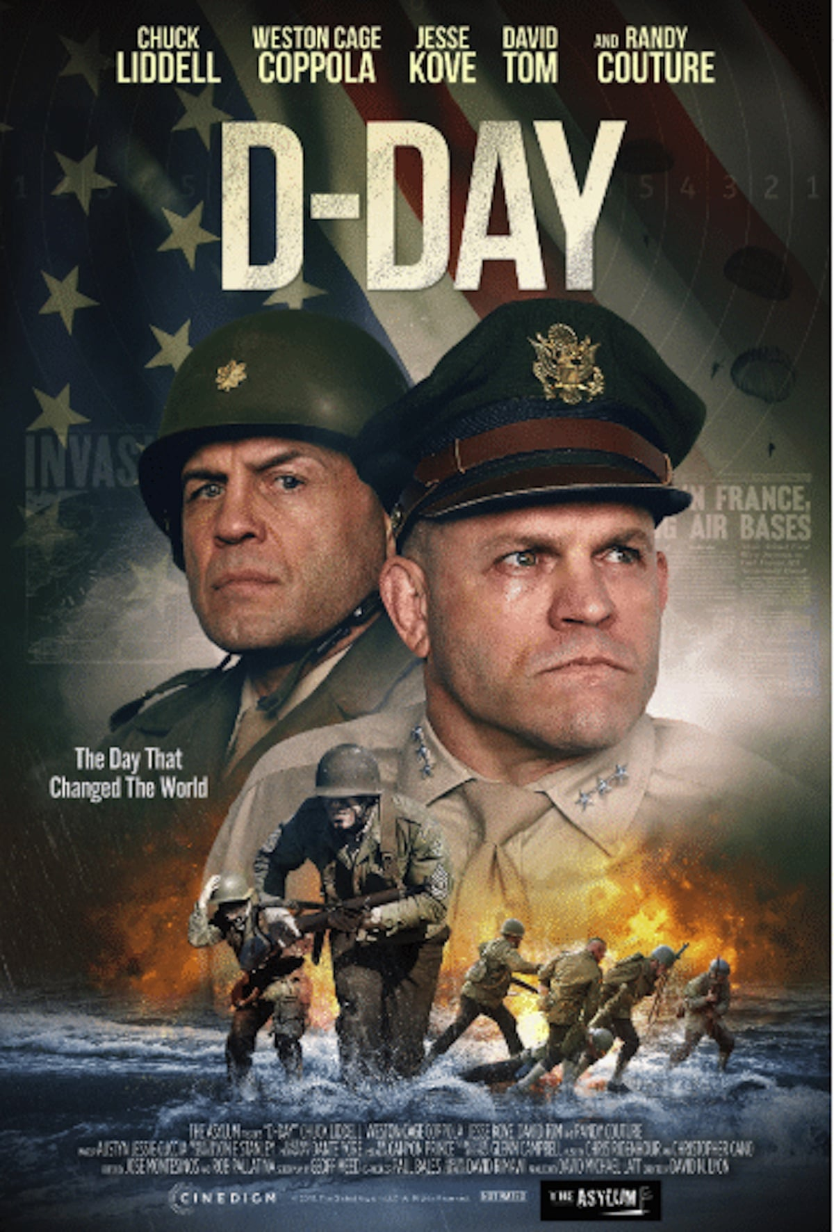 D-Day official movie poster