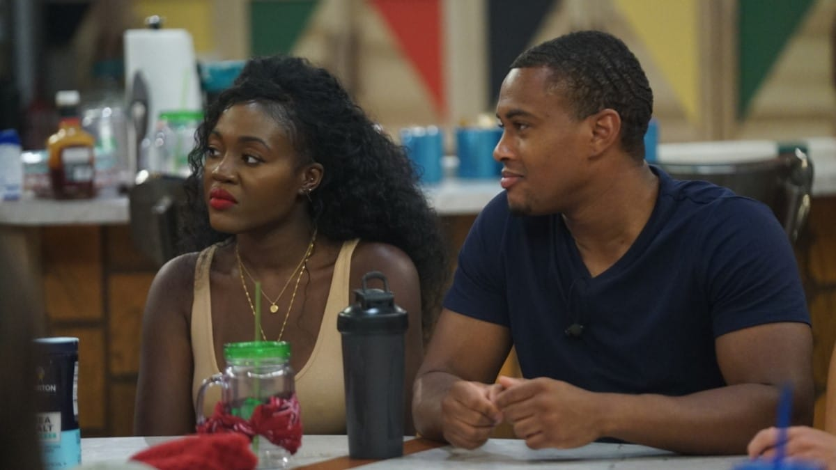 David And Kemi On BB21 Cast
