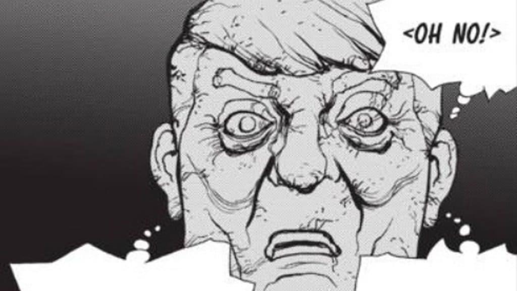 Trump in the Dr. STONE manga