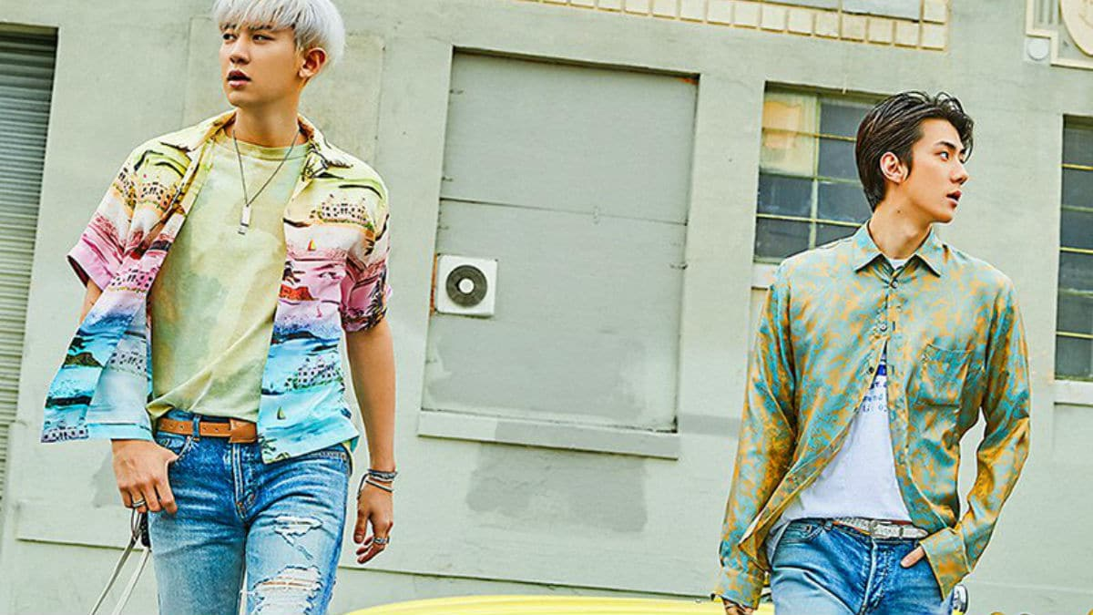 EXO-SC members Chanyeol and Sehun