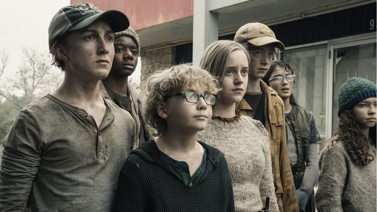 The kids on Fear the Walking Dead