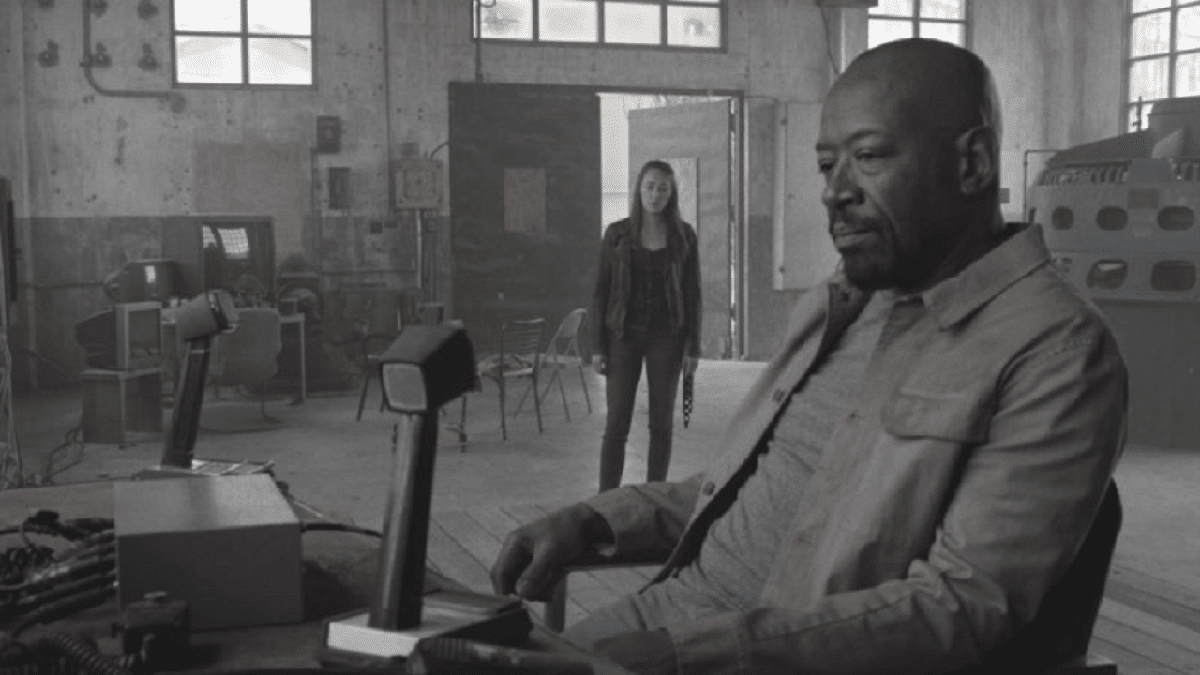 Morgan and Alicia on Fear the Walking Dead.