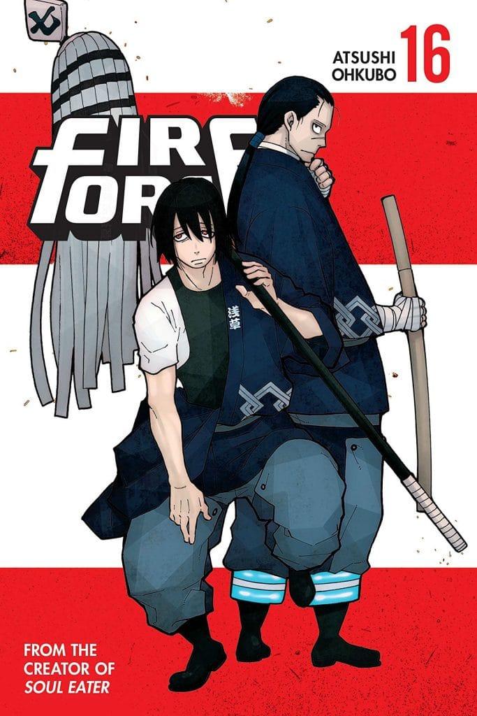 Fire Force Manga Volume 16 Cover Shinmon Benimaru