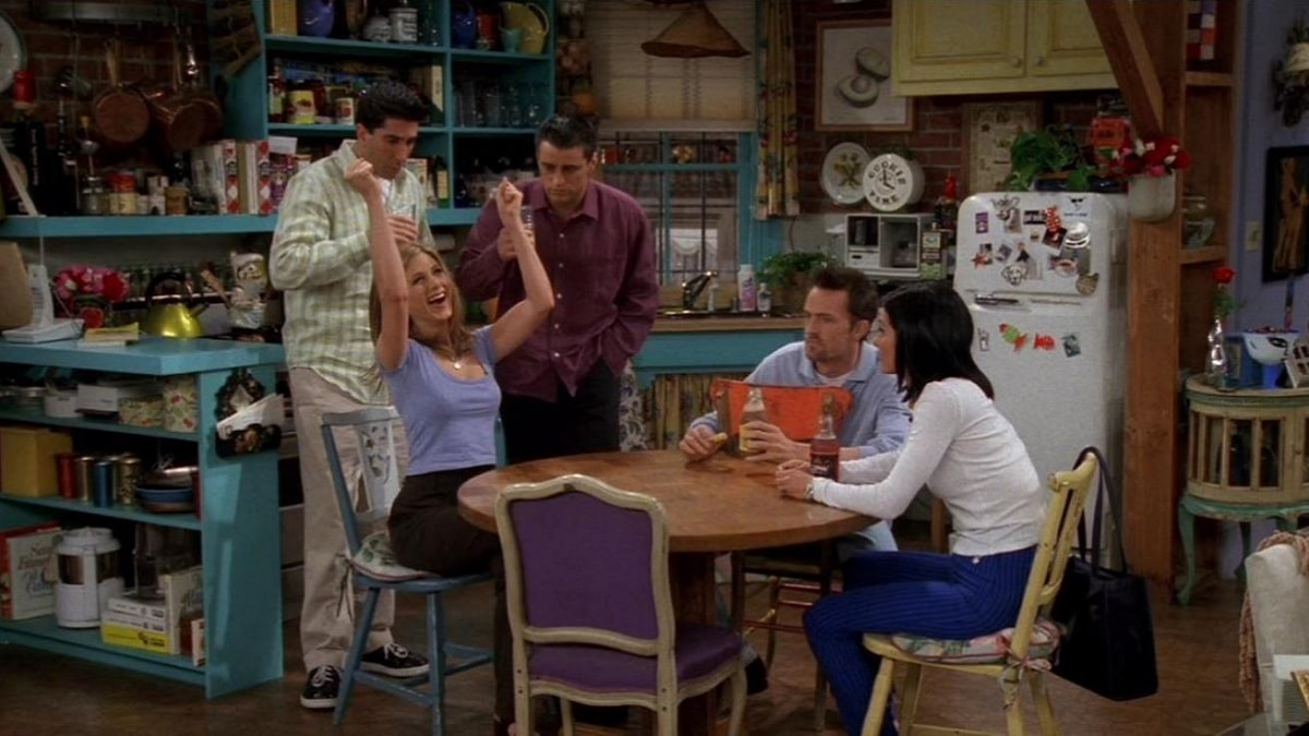 Friends, starring Jennifer Aniston