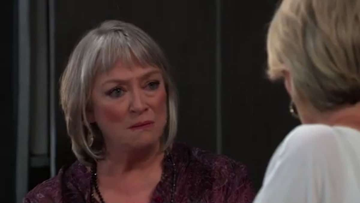 Veronica Cartwright as the psychic on General Hospital.
