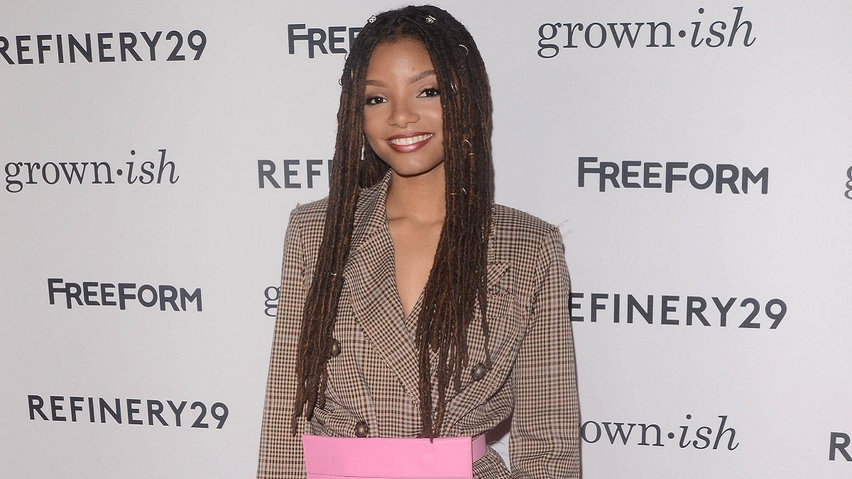Halle Bailey, singer and actress
