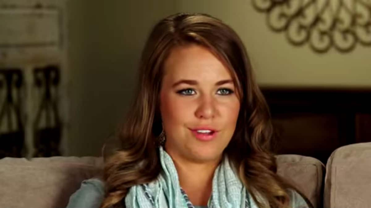 Jana Duggar during a Counting On confessional.