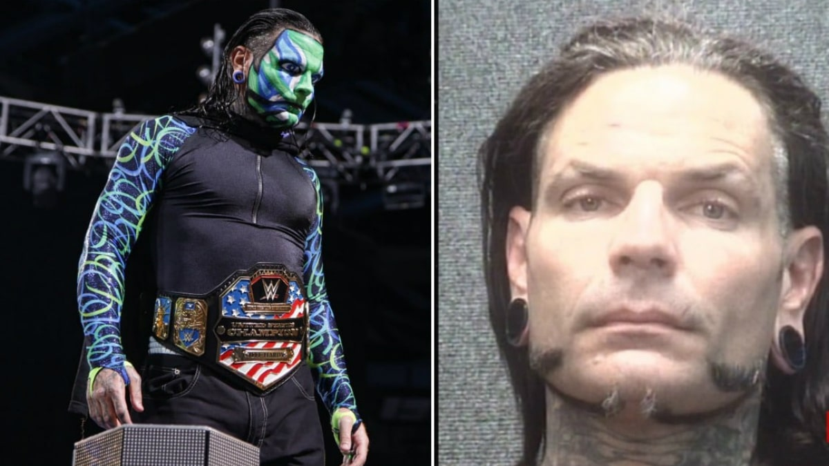 Jeff Hardy arrested for public intoxication in South Carolina