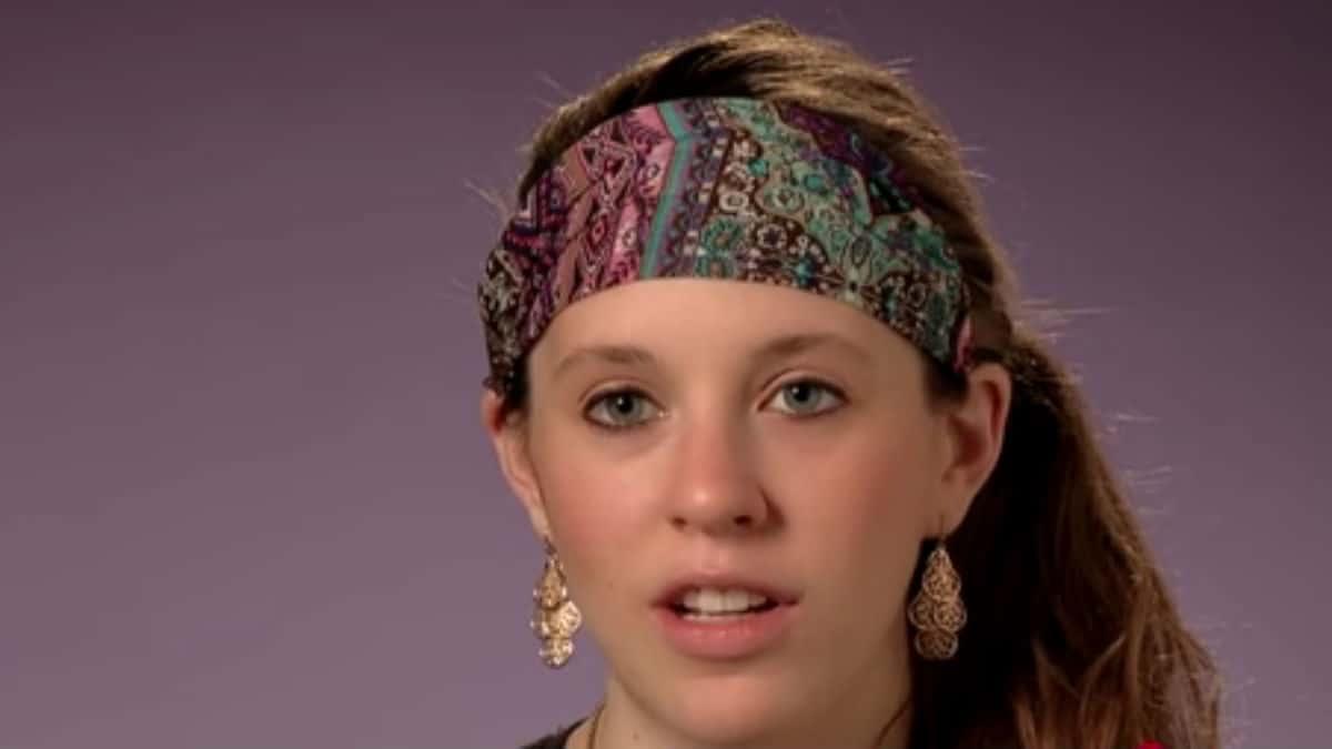 Jill Duggar during a confessional.