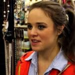 Jinger Duggar during a Counting On scene.