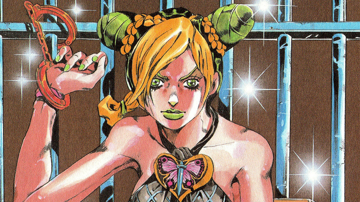 Jolyne Cujoh from JoJo's Bizarre Adventure