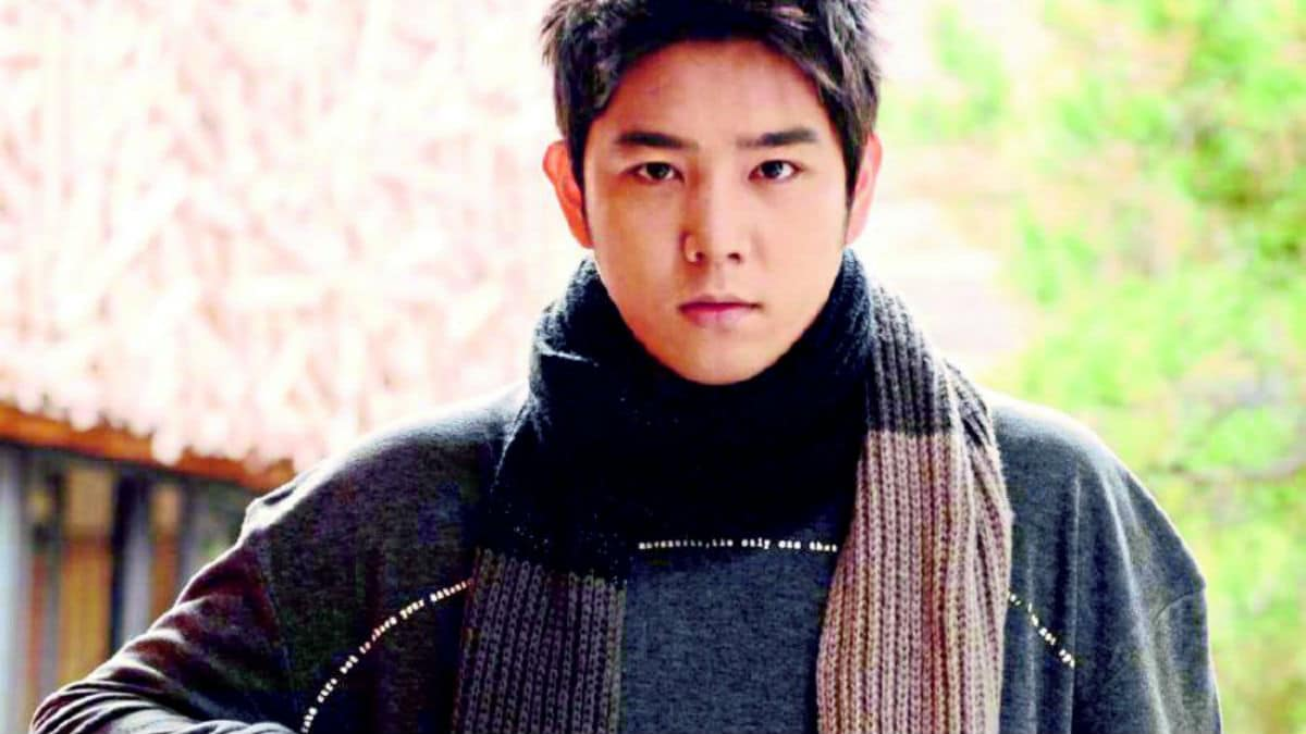 Kangin of Super Junior