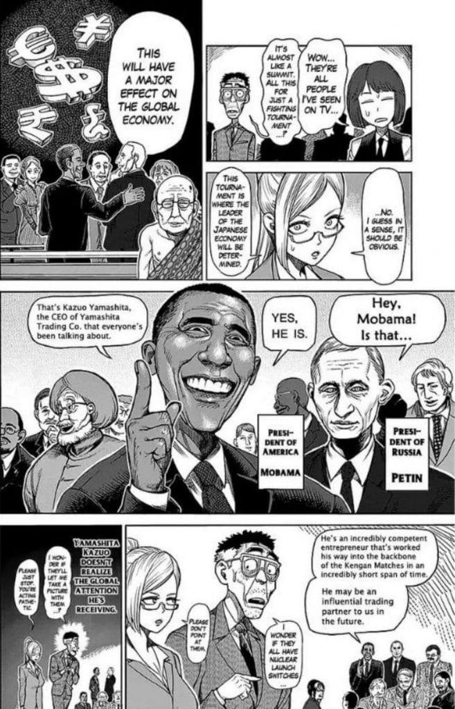 Kengan Ashura Barack Obama