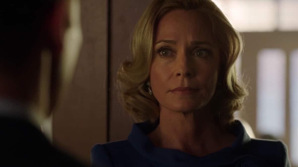 Susanna Thompson as Moira Queen on Arrow.