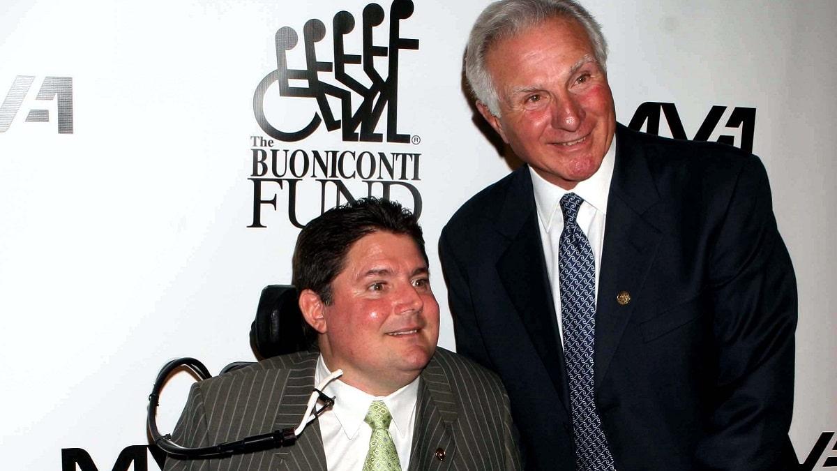 Nick Buoniconti and his son Marc
