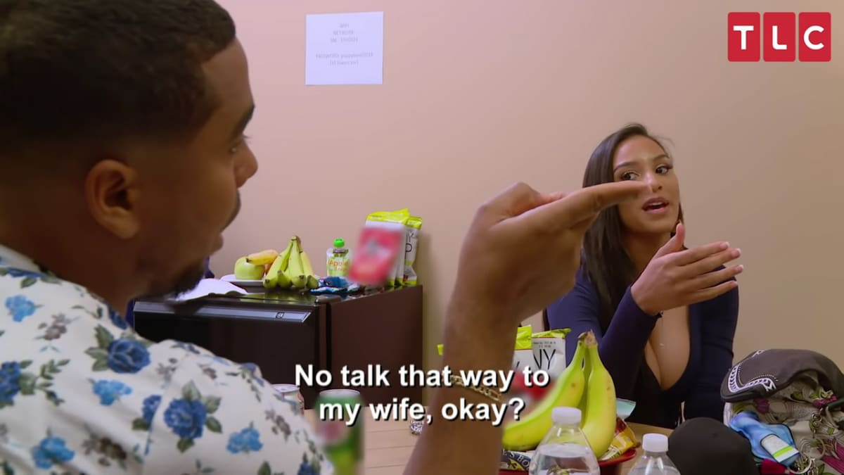 Pedro warns Colt to stop arguing with his wife
