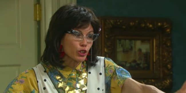 Stacy Haiduk as Susan Banks on Days of our Lives.